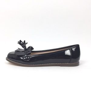 Carvela Kurt Geiger Shoes 40 Black Patent Loafers